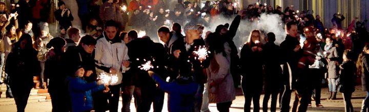 momente | wunderkerzenflashmob | februar 2015